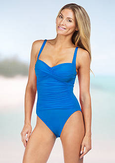 La Blanca Special Over The Shoulder One-Piece