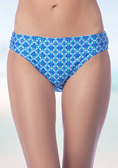 La Blanca True Blue Reversible Hipster Swim Bottom