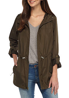 Celebrity Pink Packable Parka With Pockets