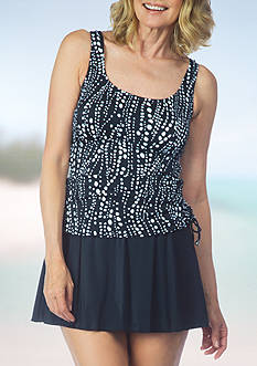 Maxine of Hollywood Waterfall Adjustable Tank Swimdress
