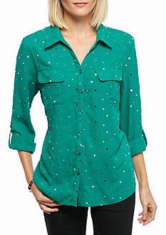 Kim Rogers Utility Dobby Shirt