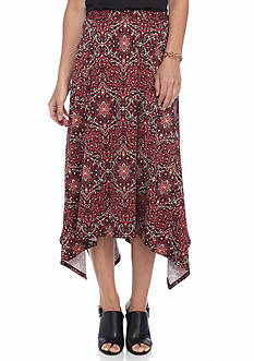 Kim Rogers® Allover Printed Seamed Skirt