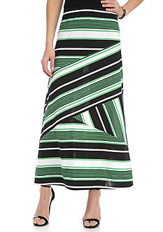 Kim Rogers Striped Skirt