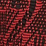 Black Blouse: Red Kim Rogers Crochet Scoop Neck Shirt