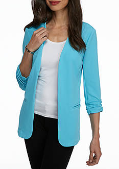 Kim Rogers® Open Front Knit Jacket
