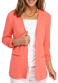 Kim Rogers Open Front Knit Jacket