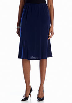 Kim Rogers® Short Pull On Gored Skirt