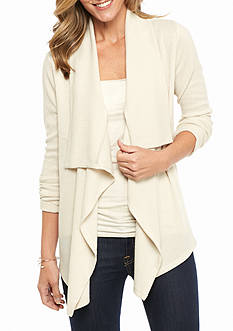 Kim Rogers® Waterfall Knit Cozy Cardigan