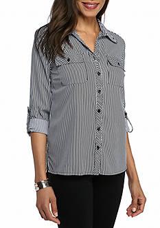 Kim Rogers Silky Stretch Utility Shirt