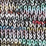 Women: Crew & Scoop Neck Sale: Black Kim Rogers Crew Neck Round Hem Space-dye Sweater