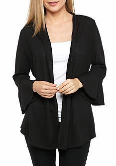 Kim Rogers Petite Flare Sleeve Cardigan