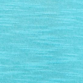 Blue Petite Tops: Turq Flame Kim Rogers Petite Three Quarter Sleeve 3fer with Scarf