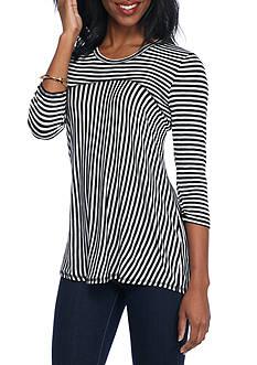 Kim Rogers Petite Stripe Tunic