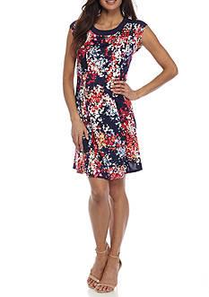 Kim Rogers Petite Size Princess Seam Dress