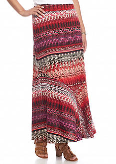 Kim Rogers Petite Desert Maxi Skirt