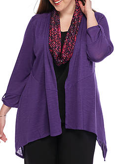 Kim Rogers Plus Size 2Fer with Scarf