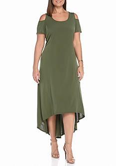 Kim Rogers Cold Shoulder Maxi Dress