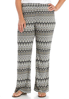 Kim Rogers Plus Size Biadere Pants