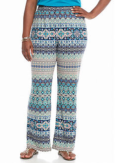 Kim Rogers® Women's Plus Biadere Pants