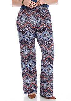 Kim Rogers® Plus Size Biadere Pants