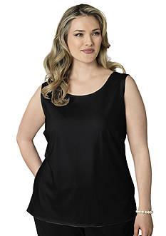 Kim Rogers Plus Size Shell Tank