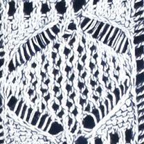 Women: Statements Sale: Navy Combo Jeanne Pierre Open Knit Sweater