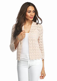 Jeanne Pierre Crochet Shrug