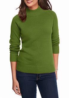 Jeanne Pierre Perfect Mock Sweater