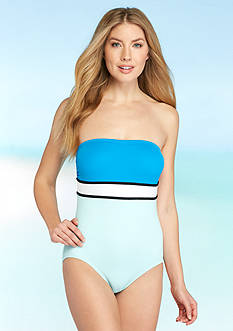 Vince Camuto Beach Front Bandeau One Piece