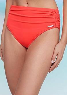 Vince Camuto Solids Convertible High Waist Bikini Swim Bottom