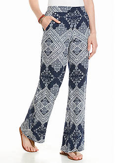 A. Byer Soft Printed Pants