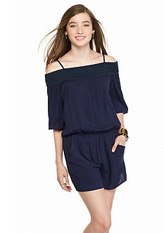 A. Byer Off The Shoulder Romper