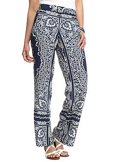 A. Byer Printed Soft Placement Pants