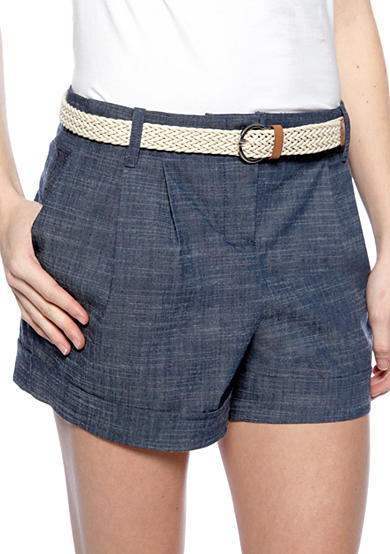 A. Byer Chambray Short