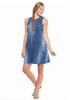 A. Byer Jean Knit Dress