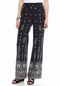 A. Byer Printed Soft Pants