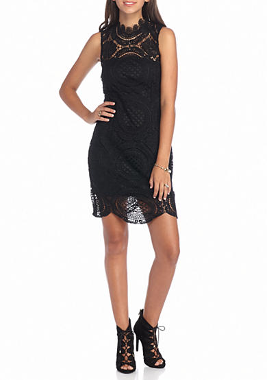 Byer California Allover Lace Dress