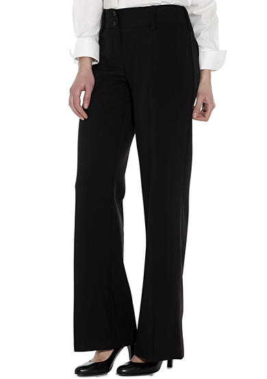 A. Byer Black Cambridge Pant