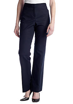 Rafaella Plus Size Double Weave Pant