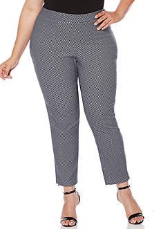 Rafaella Plus Size Skinny Ankle Supreme Pant