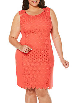 Rafaella Plus Size Solid Circa Dress