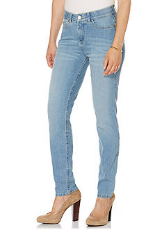 Rafaella Petite Size Bay Blue Denim Pants