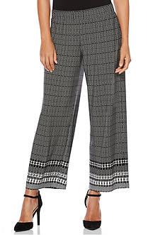 Rafaella Petite Aztec Border Soft Pants