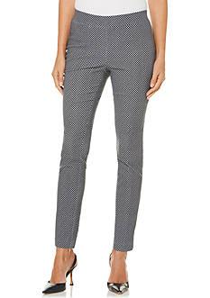 Rafaella Petite Size Jacquard Pants