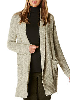 Rafaella Petite Size Shawl Neck Sweater