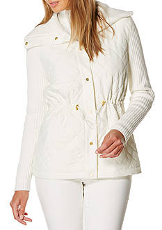 Rafaella Petite Size Snap Front Sweater