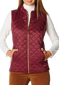 Rafaella Petite Size Puffer Vest
