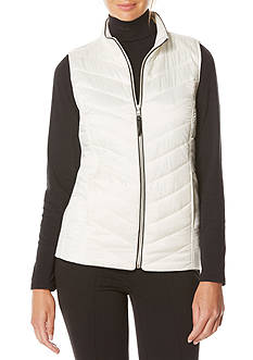 Rafaella Solid Puffer Vest