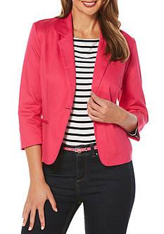 Rafaella Petite Size Pique Jacket