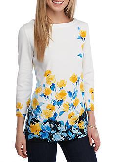 Rafaella Petite Size Sunshine Floral Tunic